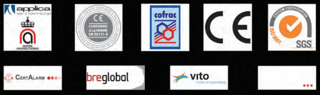 CertificationsConformitésnbspAlarmes ET Sécurité