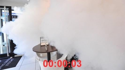 ARC SECURITY Générateur Brouillard Opticien 3