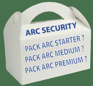 BoxPackARCSECURITYComparenbspAlarmes ET Sécurité